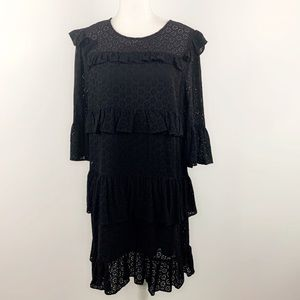 Madewell NWT waterlily ruffle eyelet dress H2969
